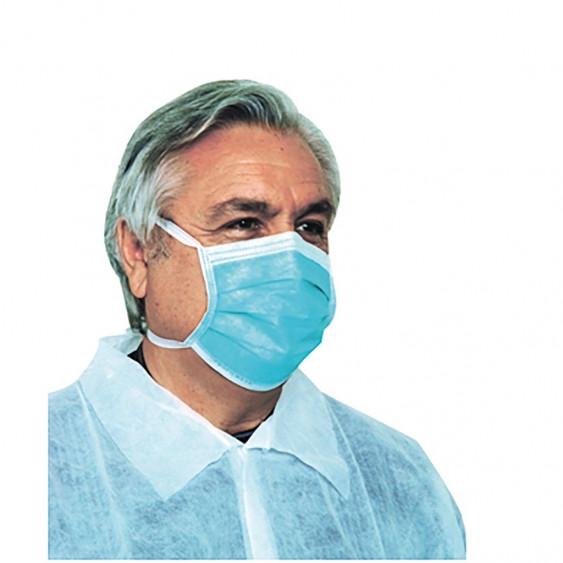 Masque Chirurgical type IIR à lacets - Aerokyn - Boîte de 50
