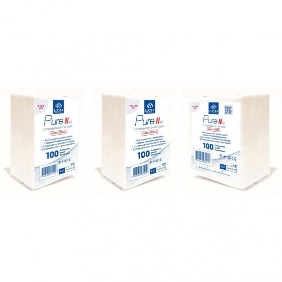 Compresses Non tissées Non Stériles Pure N40 - LCH