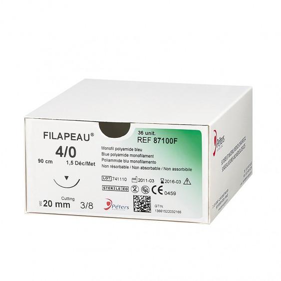 Fils de sutures Filapeau - Boîte de 12