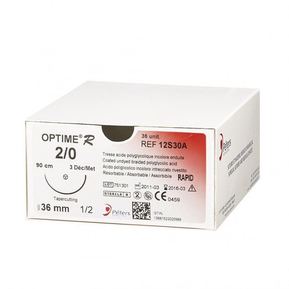Fils de sutures OPTIME R - Peters Surgical