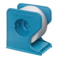Sparadrap MicroporeTM sur dévidoir bleu