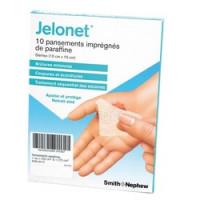 Pansement gras stérile Jelonet - 10 x 10 cm - Boite de 10