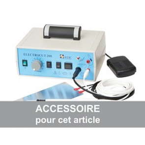 ELECTRODE COUTEAU ISOLEE 70MM