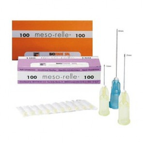 AIGUILLE MESO-RELLE POUR MESOTHERAPIE 31G