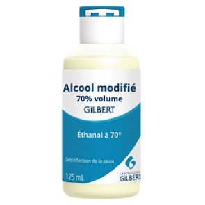 ALCOOL MODIFIE 70% 125ML GILBERT