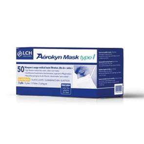 Masque Chirurgicaux Bleu Type I /Elastique / Boite de 50