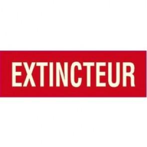 Panneaux extincteur - Texte / Pictogramme