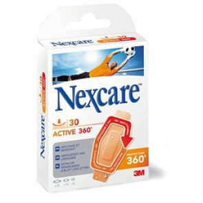 Pansements support mousse Nexcare Active 360°