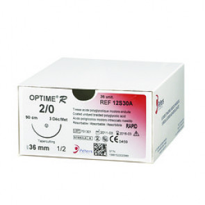 Fils de sutures OPTIME R - Aiguille Extrablack - Peters Surgical
